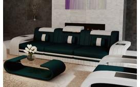 3 Sitzer Sofa ROYAL mit LED Beleuchtung & USB Anschluss-NATIVO™ Möbel Schweiz
