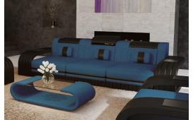 Canapé Design 3 places ROYAL avec éclairage LED et port USB-NATIVO™ Möbel Schweiz