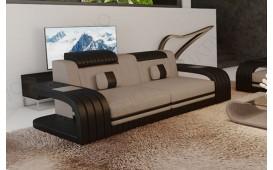 Divano di design a 2 posti ROYAL con illuminazione a LED e presa USB