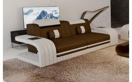 Canapé Design 2 places ROYAL avec éclairage LED et port USB-NATIVO™ Möbel Schweiz