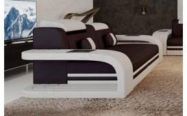 2 Sitzer Sofa ROYAL mit LED Beleuchtung & USB Anschluss-NATIVO™ Möbel Schweiz