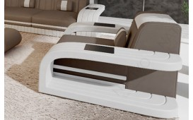 Fauteuil Design ROYAL avec éclairage LED et port USB-NATIVO™ Möbel Schweiz