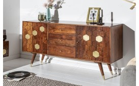 Buffet Design ARABIC HONEY 145 cm-NATIVO™ Möbel Schweiz