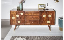 Designer Sideboard ARABIC HONEY 145 cm-NATIVO™ Möbel Schweiz