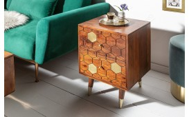 Table d'appoint Design ARABIC HONEY 40cm