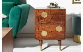 Tavolino d'appoggio di design ARABIC HONEY 40cmNATIVO™ Möbel Schweiz
