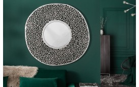 Specchio di design POCAHONTAS SILVER S