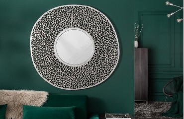 Specchio di design POCAHONTAS SILVER S-NATIVO™ Möbel Schweiz