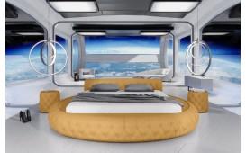Designer Lederbett NASA ©iconX STUDIOS-NATIVO™ Möbel Schweiz