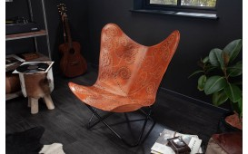 Fauteuil Lounge ASTRA LIGHT BROWN