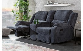 Designer Lounge Sessel CINEMA GREY