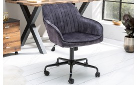 Chaise de bureau PIEMONT DARK GREY