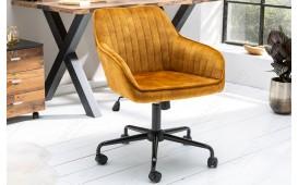 Chaise de bureau PIEMONT YELLOW