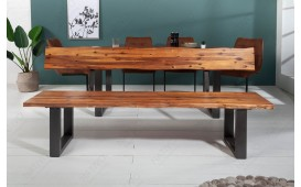 Banc Design ALMERE DARK 200 cm-NATIVO™ Möbel Schweiz