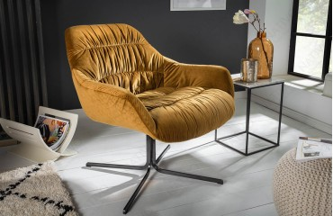 Fauteuil Lounge SOLACE YELLOW-NATIVO™ Möbel Schweiz