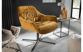 Fauteuil Lounge SOLACE YELLOW