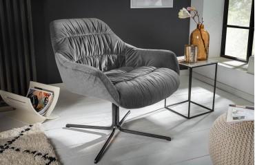Poltrona Lounge SOLACE GREY-NATIVO™ Möbel Schweiz