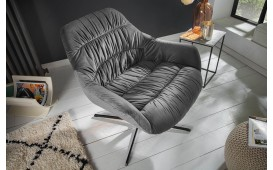 Designer Lounge Sessel SOLACE GREY-NATIVO™ Möbel Schweiz