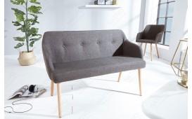 Designer Sitzbank SQUARE GREY