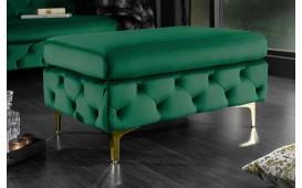 Designer Sitzhocker ROCCO BIG GREEN