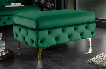 Tabouret Design ROCCO BIG GREEN-NATIVO™ Möbel Schweiz