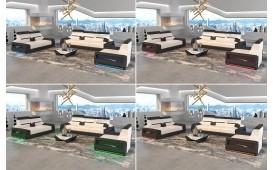 Canapé Design 3 places AVATAR avec éclairage LED & port USB-NATIVO™ Möbel Schweiz