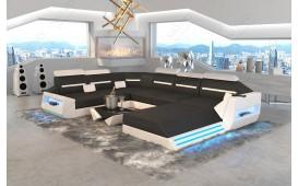 Canapé Design AVATAR XXL avec éclairage LED & port USB