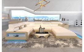 Designer Sofa AVATAR XXL mit LED Beleuchtung & USB Anschluss-NATIVO™ Möbel Schweiz
