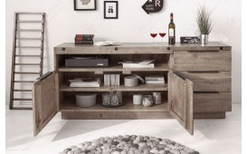 Buffet Design FIRENCA GREY 175cm-NATIVO™ Möbel Schweiz