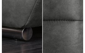 Tabouret Design ELEGANTE GREY-NATIVO™ Möbel Schweiz