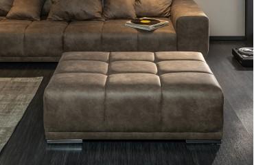 Tabouret Design ELEGANTE TAUPE-NATIVO™ Möbel Schweiz