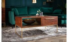 Designer Couchtisch FLAT GOLD 110 cm-NATIVO™ Möbel Schweiz