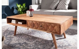 Table basse Design ARABIC OAK