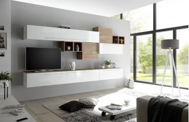 Designer Wohnwand MARSEILLE-NATIVO™ Möbel Schweiz