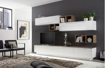Designer Wohnwand TOULOUSE-NATIVO™ Möbel Schweiz