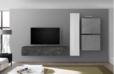 Designer Wohnwand CAEN-NATIVO™ Möbel Schweiz