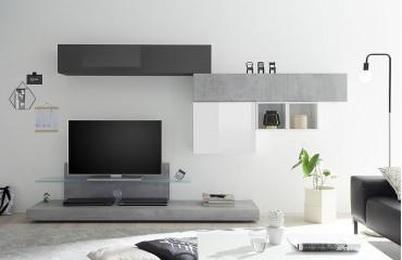 Designer Wohnwand PAU-NATIVO™ Möbel Schweiz