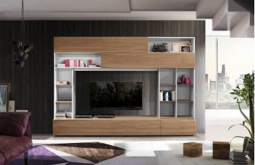 Designer Wohnwand CHOLET-NATIVO™ Möbel Schweiz