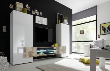 Designer Wohnwand LAVAL-NATIVO™ Möbel Schweiz