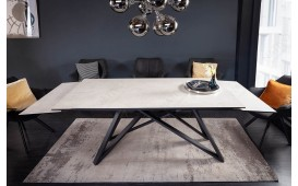 Table Design SALTA DARK 180-220-260 cm-NATIVO™ Möbel Schweiz