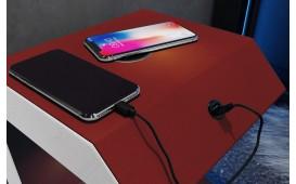 Table de chevet LUNA mit USB Anschluss & drahtloses Ladegerät-NATIVO™ Möbel Schweiz