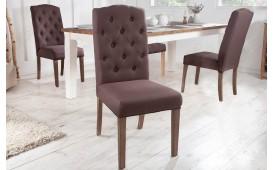 2 x Chaise Design FORTRESS BROWN-NATIVO™ Möbel Schweiz