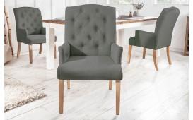 2 x Chaise Design FORTRESS GREEN avec accoudoirs-NATIVO™ Möbel Schweiz
