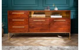 Designer Sideboard FLAT  GOLD 165 cm