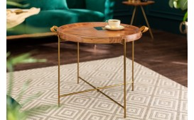 Table basse Design OPAL GOLD 55 cm-NATIVO™ Möbel Schweiz