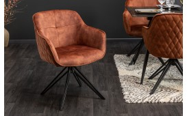 Sedia di design MASSIVO BROWN