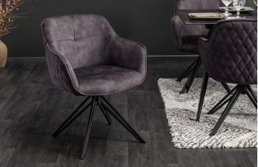 Designer Stuhl MASSIVO DARK GRAY-NATIVO™ Möbel Schweiz