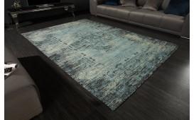 Designer Teppich BOHO ANTIK BLUE