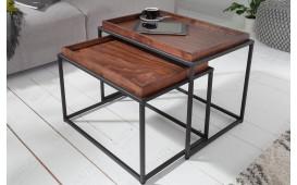 Table basse Design CIARO MOCHA 2 SET