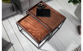 Table basse Design CIARO MOCHA 2 SET-NATIVO™ Möbel Schweiz